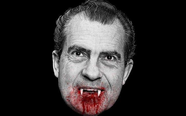 Les 5 films les plus effrayants que le président Nixon a regardés à la Maison Blanche