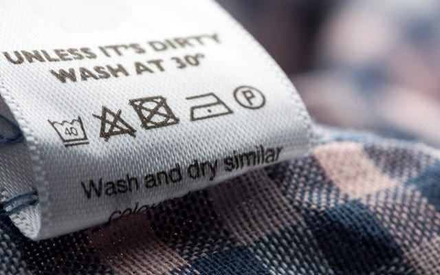 衣類ラベルの洗濯記号の意味