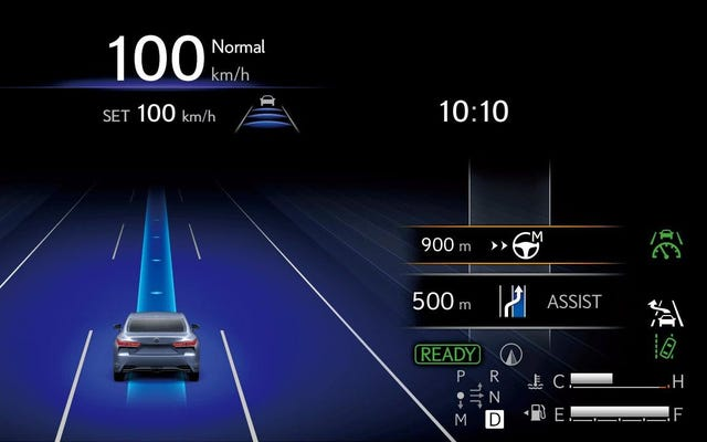 La lingua conta: il compagno di squadra Lexus stabilisce le giuste aspettative per l'assistenza alla guida