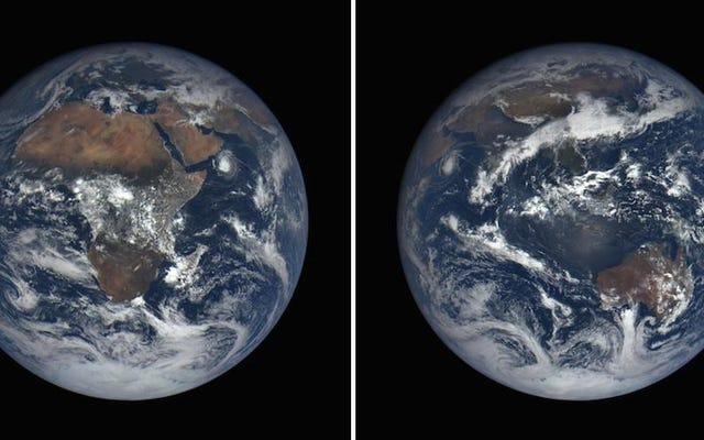 La Tierra hoy, vista desde el espacio