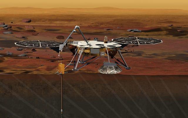 NASA wysyła robota-geofizyka do zbadania wnętrza Marsa