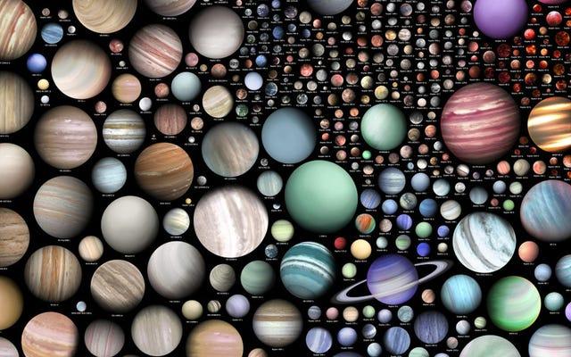 Visualisasi Ini Menunjukkan Keanekaragaman yang Mengagumkan dari Dunia Alien