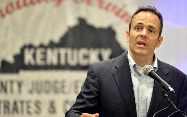 Bueno, mierda, Matt Bevin es el nuevo gobernador de Kentucky
