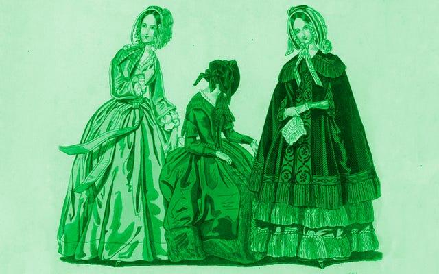 ヒ素のドレス:有毒な緑色の顔料がビクトリア朝のファッションをどのように恐怖に陥れたか