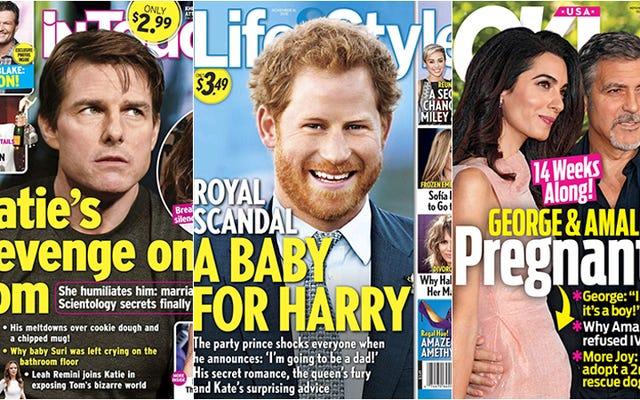 今週のタブロイド紙:ハリー王子がパパになろうとしている、そしてママ女王は幸せではない