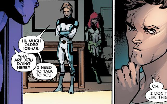 Uncanny X-Men Berakhir Dengan Ledakan — dan Akhirnya Berhubungan Dengan Seksualitas Iceman