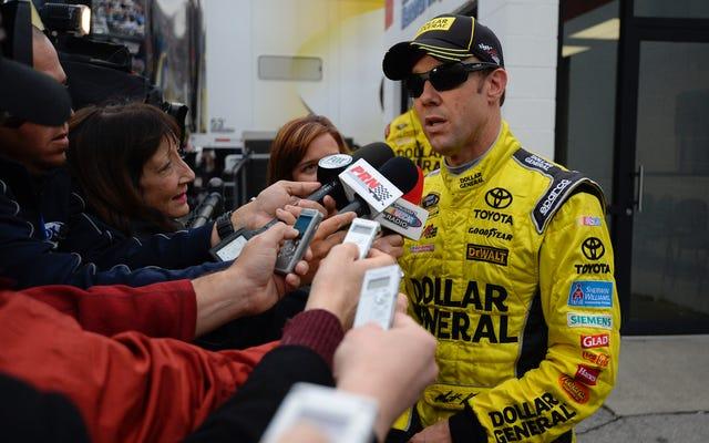マットケンゼスは控訴を失います。NASCARは2レースサスペンションを支持します