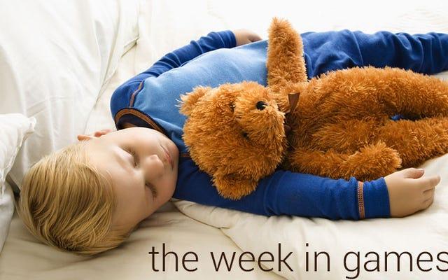 La semaine des jeux : rien ne sort cette semaine, tout le monde fait la sieste