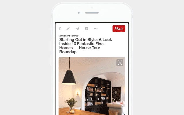 Pinterest Hiện có Tìm kiếm Trực quan và Đó là Kinda Thông minh