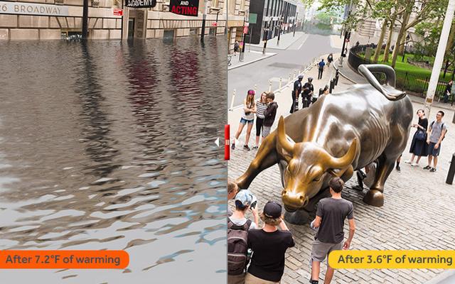 Vea cómo el aumento del nivel del mar arruinará los grandes monumentos del mundo