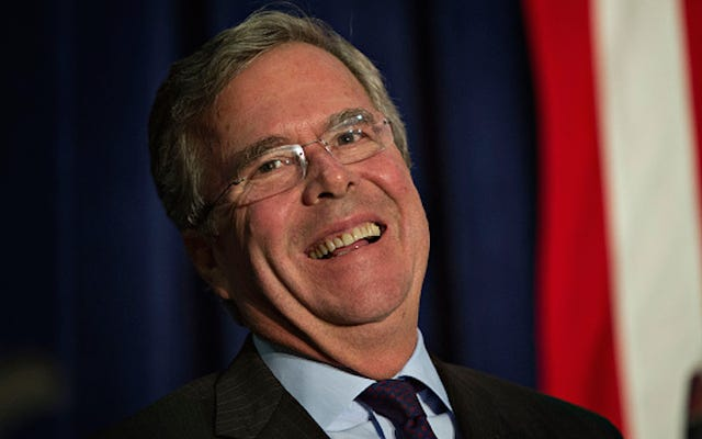ジェブ・ブッシュは赤ちゃんヒトラーを完全に殺すだろう、それはスーパーラッドになるだろうと思う