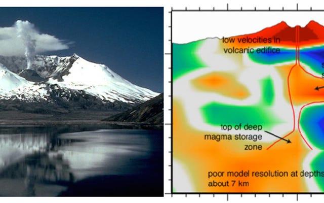 Mount Saint Helens puede compartir magma con todo un campo de volcanes