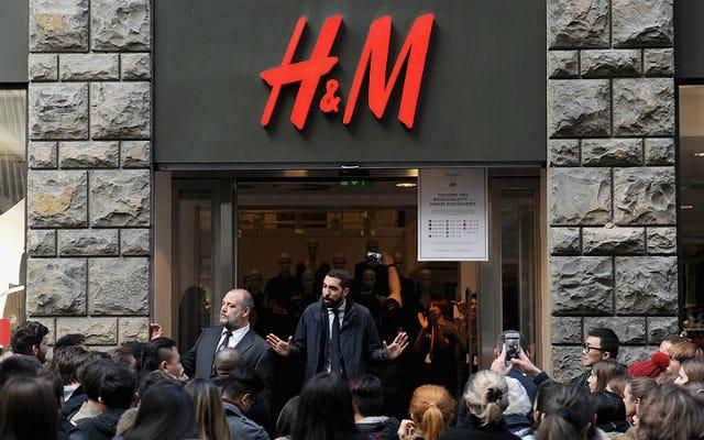 H&Mはクリスマスに戦争に参加し、感謝祭で閉鎖されます