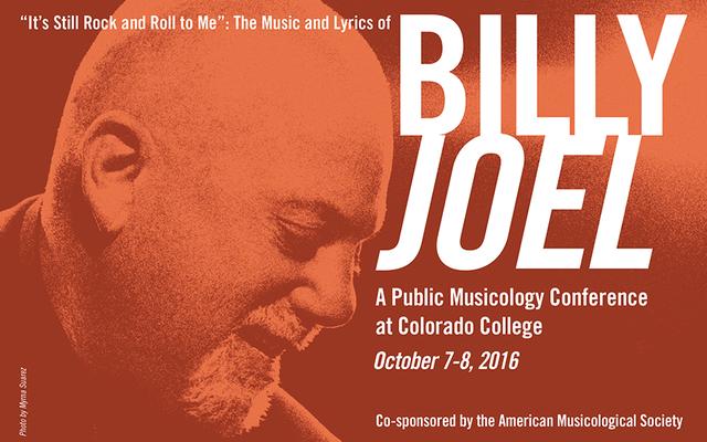 बिली जोएल संगीतशास्त्र सम्मेलन के लिए मेरे प्रस्ताव