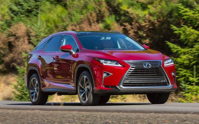 Lexus RX: Guida per l'acquirente di Jalopnik