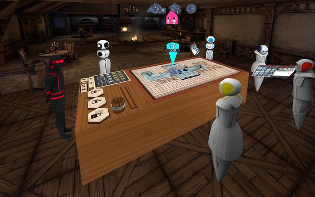 Да, теперь вы можете играть в Dungeons & Dragons в VR