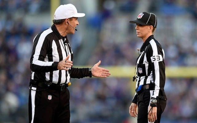 NFLは、当局者がレイヴンズを勝利からねじ込んだことを認めている