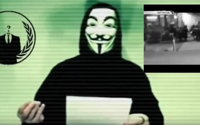 匿名はISISに宣戦布告しました