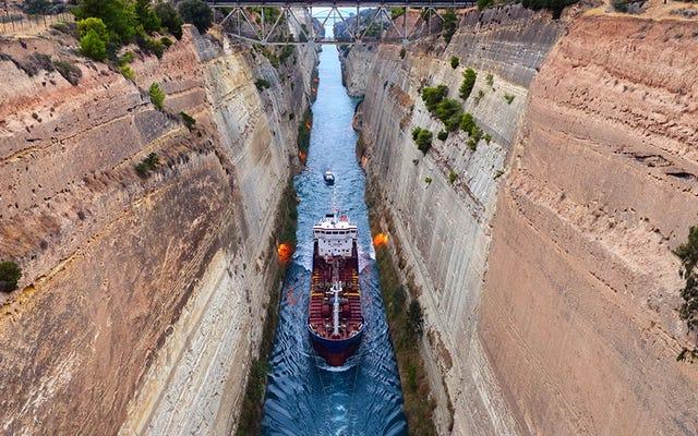 เมื่อเรือแล่นบนบก: 7 ช่องทางเดินเรือที่งดงาม
