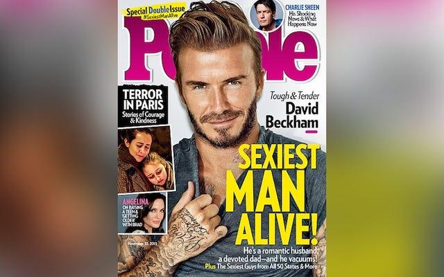 Padre in pensione di quattro figli dichiarato l'uomo più sexy del mondo