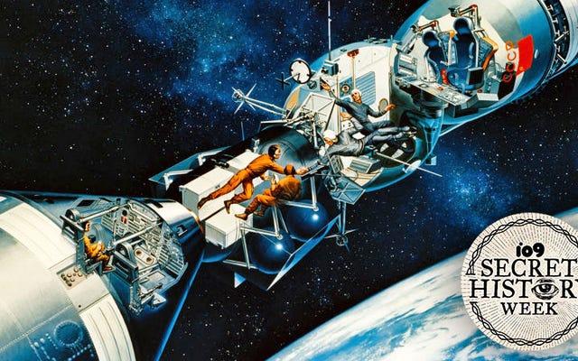 ครั้งแรกที่นาซ่าเทียบท่ากับยานอวกาศโซเวียตในวงโคจร
