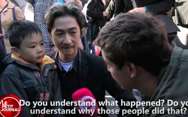 パリ同時多発テロについての父親の息子への説明のこのビデオは非常にバイラルになりました