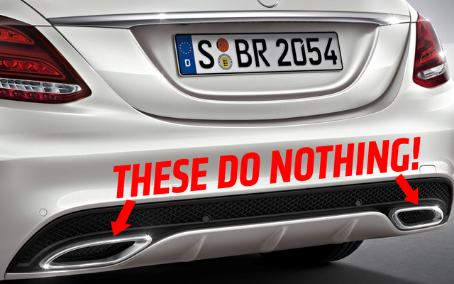 Десять самых нелепых деталей дизайна автомобилей