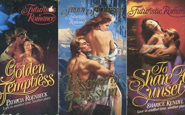 Ces couvertures romantiques `` futuristes '' du début des années 90 sont superbes et merveilleuses