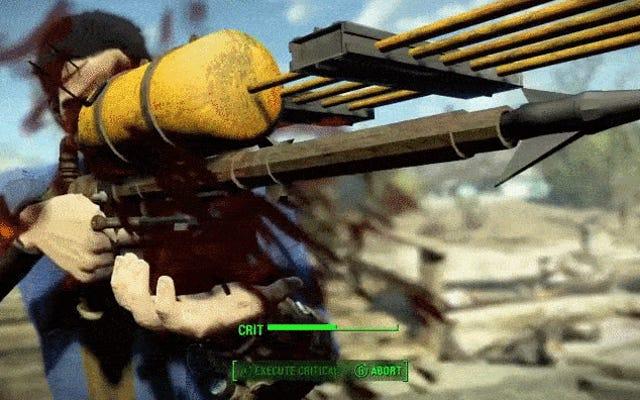 Modder descubre el arma secreta de Fallout 4