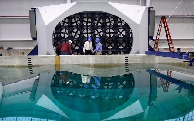 Este nuevo simulador oceánico pondrá a prueba la ingeniería marina hasta la destrucción