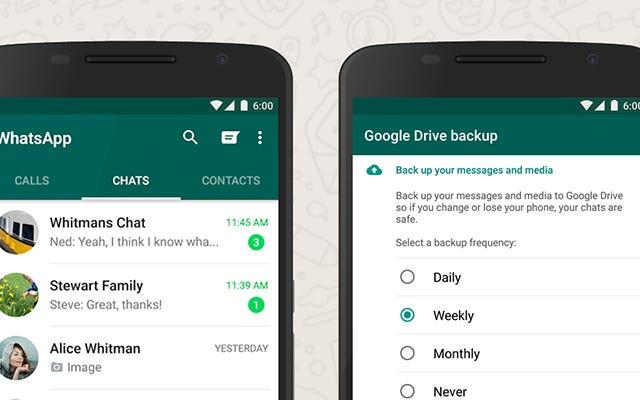วิธีสำรองและกู้คืนการแชท WhatsApp ด้วย Google Drive