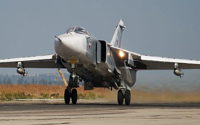 トルコが領空に侵入したと言うロシアのSu-24フェンサーを撃墜(更新)