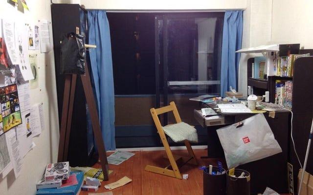 ห้องขนาดเล็กของนักเรียนมัธยมปลายญี่ปุ่นจะทำให้คุณประหลาดใจ