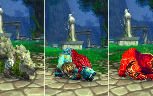 World of Warcraft:Legionの新しいドルイドフォームはゴージャスに見えます