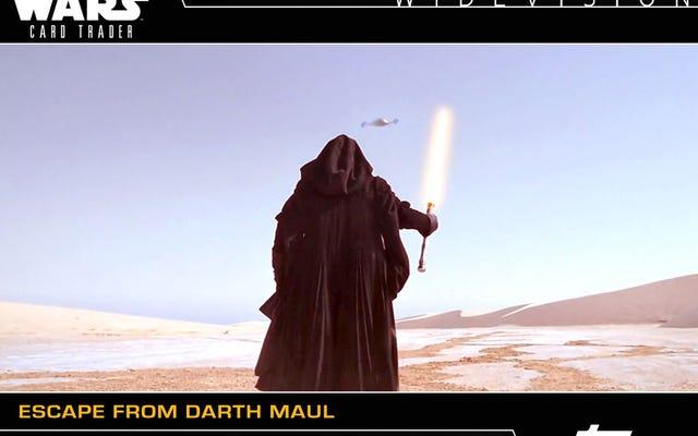 स्टार वार्स कार्ड ट्रेडर में नवीनतम कार्डों पर आपकी पहली नज़र यहां दी गई है