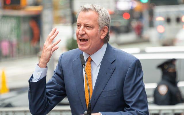 De Blasio: 'Yah, Yah, Yah, Tidak Mudah Menemukan Walikota yang Tidak Menyebalkan, Hah?'