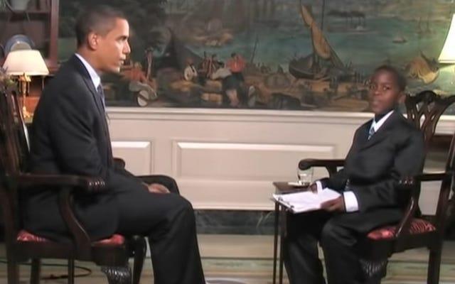 Damon Weaver, reporter dziecięcy, który przeprowadził wywiad z prezydentem Barackiem Obamą w Białym Domu, umiera w wieku 23 lat