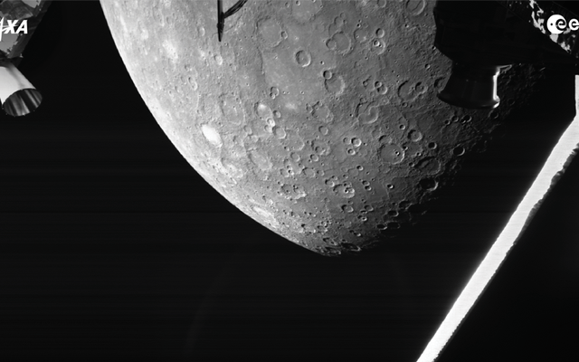 ภารกิจอวกาศยุโรป-ญี่ปุ่นร่วมกันจับภาพดาวพุธที่บินผ่านเป็นครั้งแรก