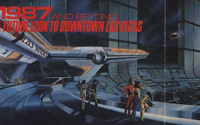 Quand Las Vegas ressemblera-t-elle enfin à cette illustration futuriste des années 80?