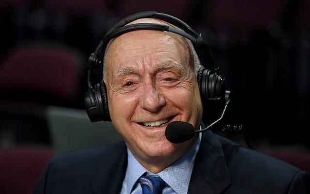 La NCAA annonce son intention de permettre aux joueurs de gagner de l'argent grâce à l'image de Dick Vitale