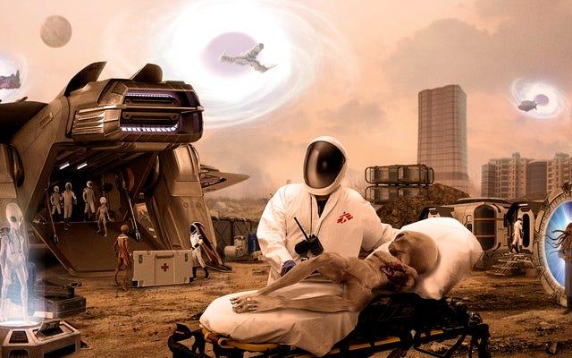 Гуманитарная организация «Врачи без измерений» вошла в раздираемую войной нелинейную вселенную