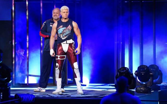 Cody Rhodes a besoin de f *** off plus que quiconque n'a jamais f ***** off dans l'histoire de f ****** off