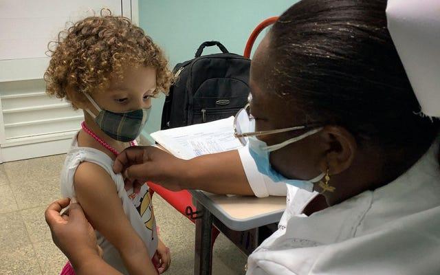 คิวบาเป็นประเทศแรกที่ฉีดวัคซีนป้องกันโควิด-19 ให้เด็กเล็ก