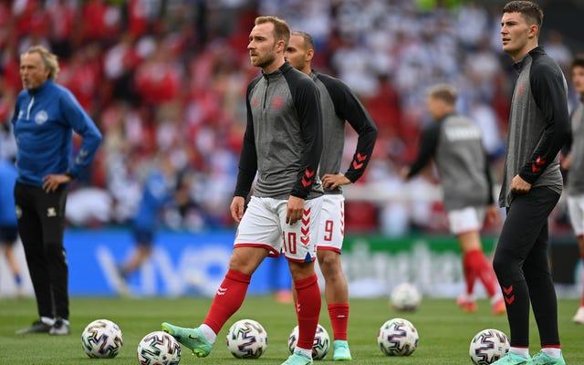 """Lekarz zespołu z Danii mówi, że Christian Eriksen """"zniknął"""" przed resuscytacją"""