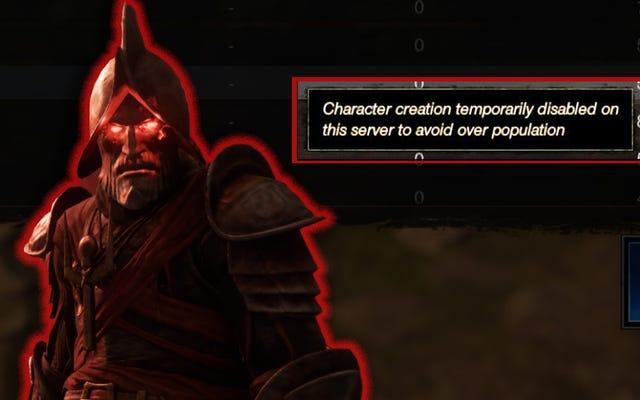Nadmiernie zaludnione serwery New World nie pozwalają już na nowe postacie
