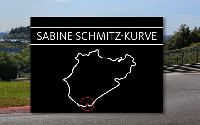 Sabine Schmitz a désormais un coin du Nürburgring nommé en son honneur