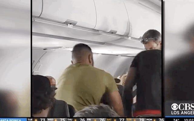Voici pourquoi les agents de bord collent les passagers indisciplinés sur les sièges