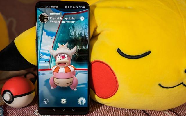 Ne franchissez pas la ligne de piquetage Pokémon Go