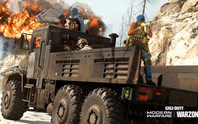 Duże ciężarówki Call Of Duty Warzone stały się popularnym (i irytującym) sposobem na wygraną