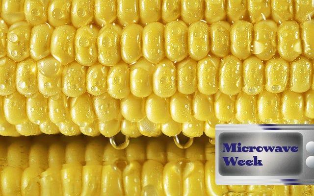 Готовьте кукурузу на пару в микроволновой печи, чтобы наслаждаться летом круглый год